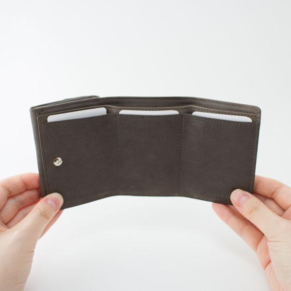 PATRICK STEPHAN(パトリック ステファン)レザー三つ折り財布 cartable