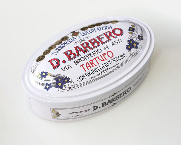 BARBERO(バルベロ)トリュフチョコ缶