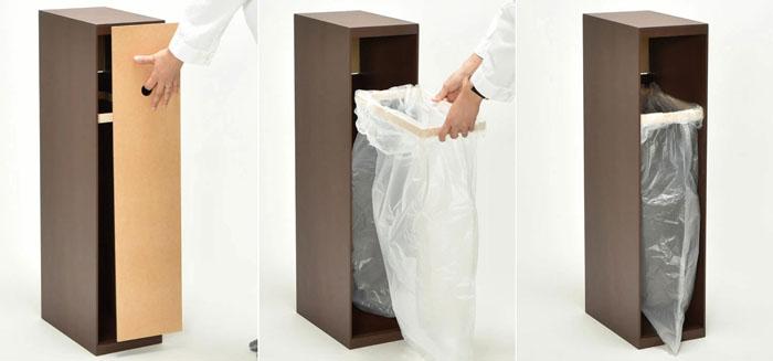 DOORS(ドアーズ)袋掛け付ダストボックス