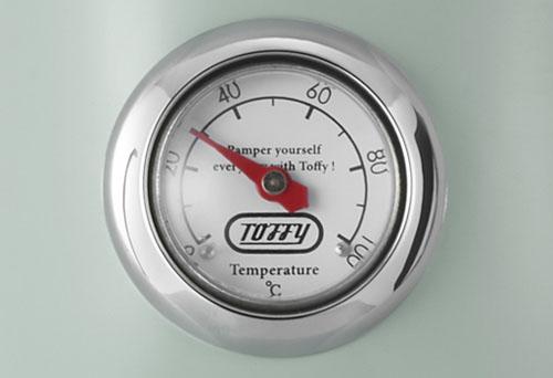 Toffy 温度計付き電気ケトル K-KT3