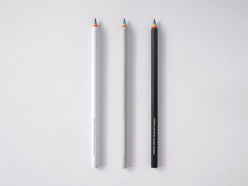 レインボー鉛筆