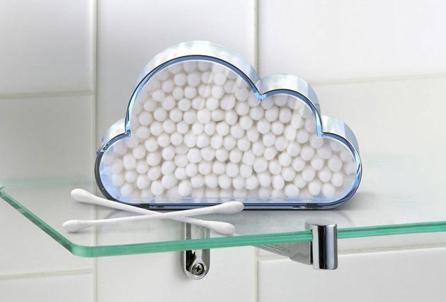 雲の綿棒ケース