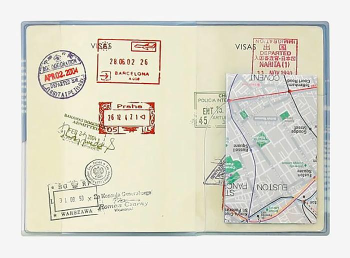 パスポートケース 赤富士