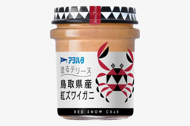 アヲハタ 塗るテリーヌ 鳥取県産紅ズワイガニ